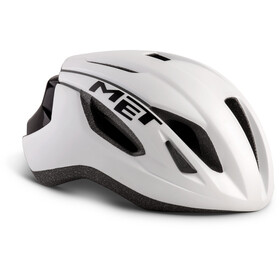 MET Strale Bike Helmet white/black